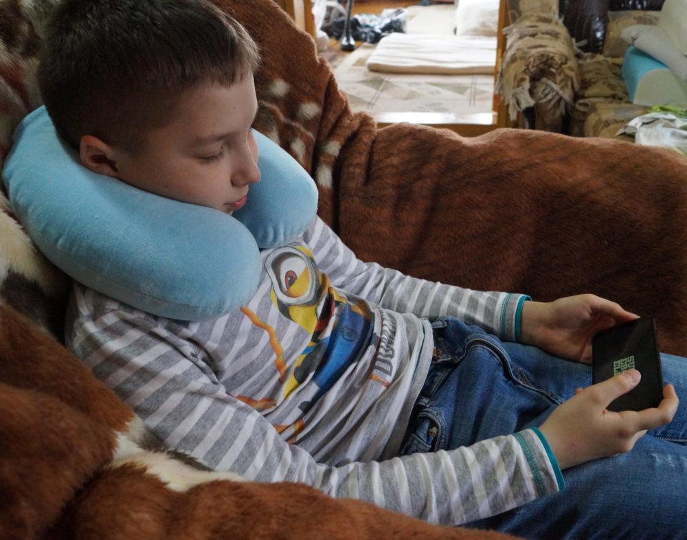 Ортопедическая подушка для путешествий: Рогалик с эффектом памяти